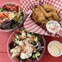 Gluten-free lobster, crab, and fried food from Lobster Cooker