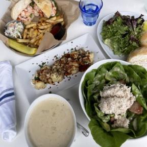 Gluten-free lunch from Brix + Brine