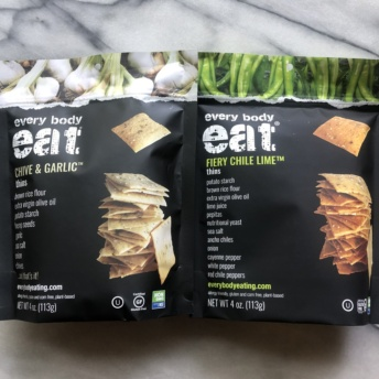 Delicious gluten-free crackers by Every Body Eat