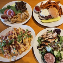Gluten-free lunch from Hobbs Tavern in Ossipee NH