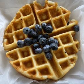 Gluten-free waffle from Bite Me Kupcakez