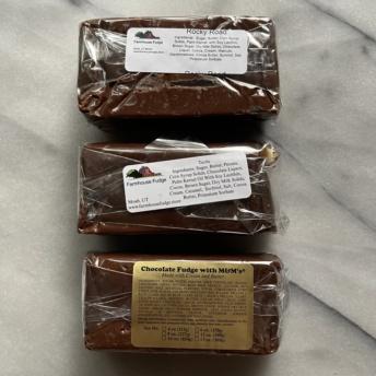 Gluten-free fudge from Farmhouse Fudge