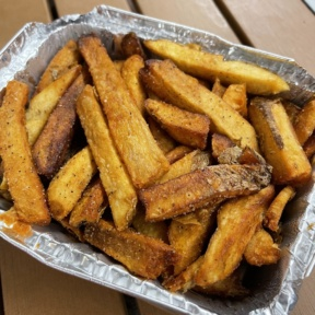 Gluten-free fries from Boss Chick N Beer