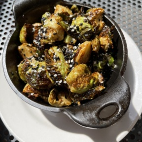 Gluten-free Brussels sprouts from D4 Irish Pub & Cafe