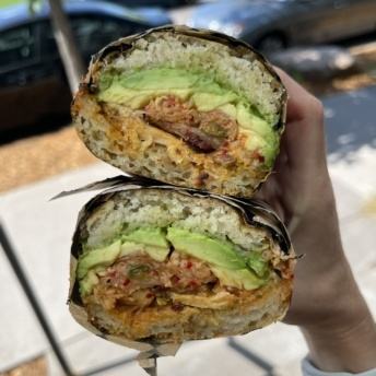 Gluten-free BRIM Club sandwich from BRIM