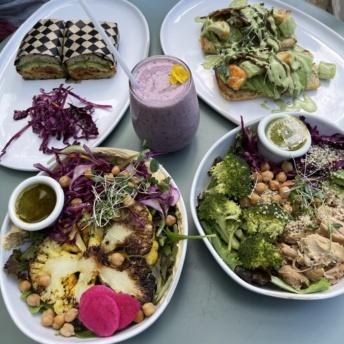 Gluten-free brunch from BRIM in Minneapolis