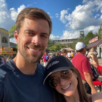 Jackie and Brendan and the Minnesota State Fair