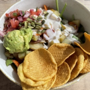 Gluten-free bowl from Cultivate Cafe