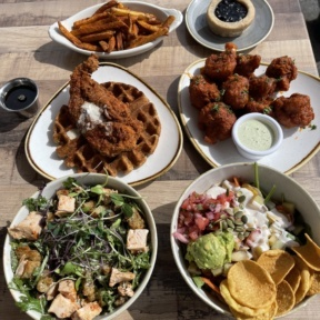 Gluten-free lunch from Cultivate Cafe