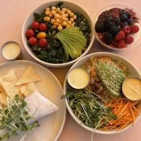 Gluten-free lunch from Glow Sun Valley