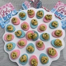 Gluten-free Colorful Deviled Eggs