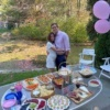 Jackie and Brendan at Gluten-Free Gender Reveal Party