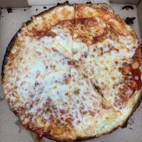 Gluten-free cheese pizza from Fatty's Pizzeria