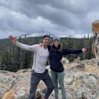 Jackie and Brendan in Montana